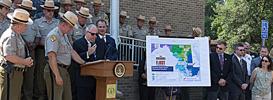 Modernization - Governor Makes Ceremonial Call on Maryland FiRST Radio System, Maryland FiRST to Allow Communications Interoperability for All Public Safety Agencies