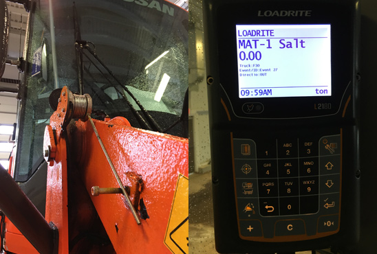 Innovation - Sensible Salting With the Wheel Loader on Board Weighing Systems