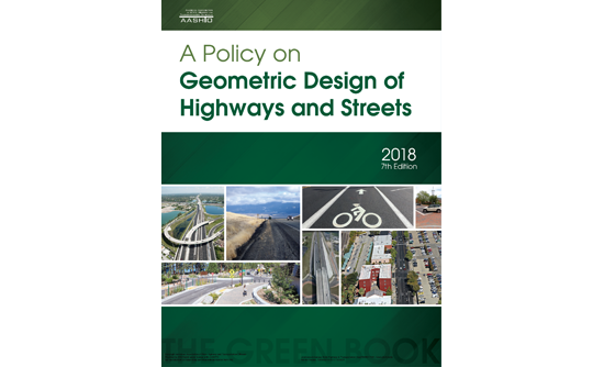 A Policy on Geometric Design of Highways and Streets
