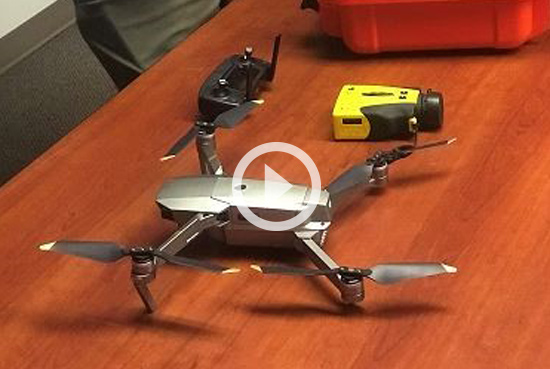 Innovation - MDOT SHA Drone Update: The Office of Materials Technology (OMT) Assesses Geological Hazards With Unmanned Autonomous Vehicle