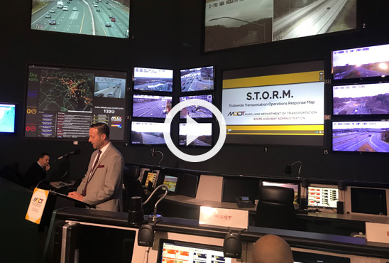 Innovation - MDOT SHA Unveils New Application That Allows Maryland Motorists to Track Plows During Weather Emergencies