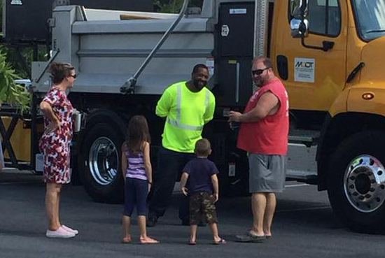 Customer Service Experience - The Princess Anne Shop Makes a Difference at Local Library's Touch-A-Truck Event